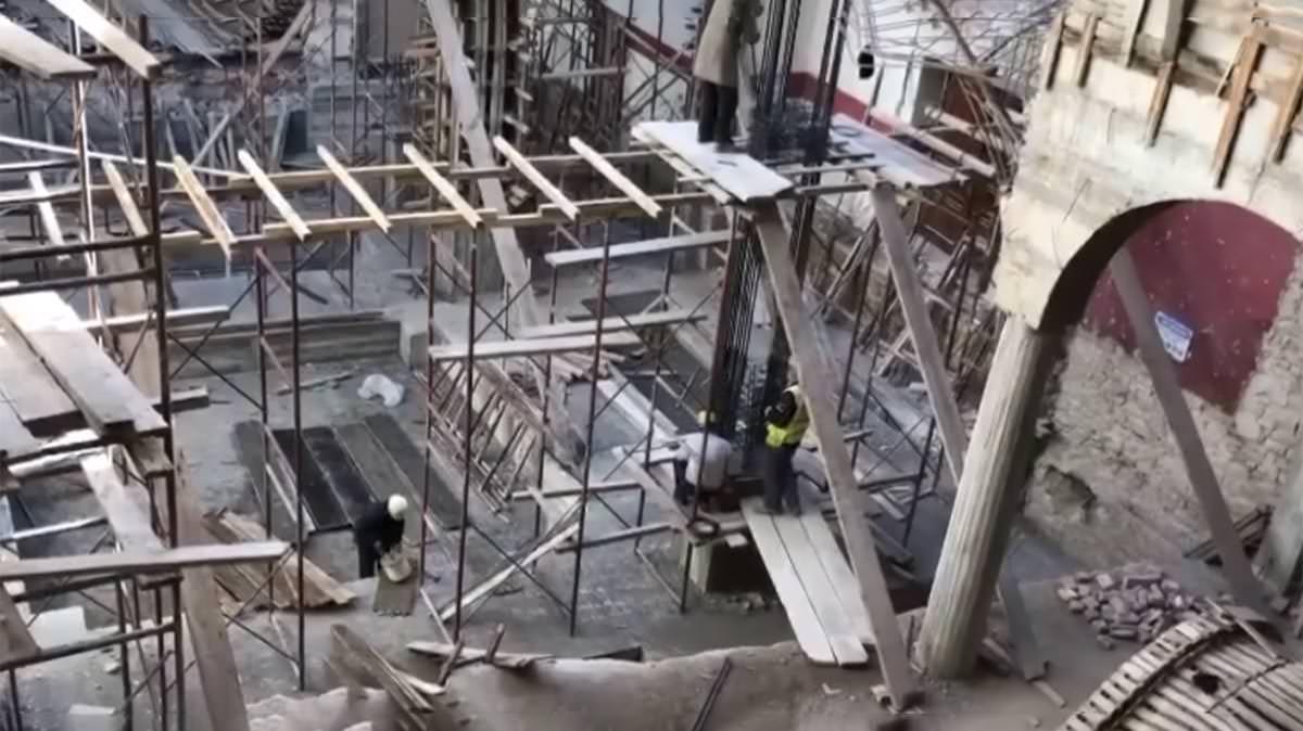 καθεδρικός ναός Ζωοδόχος Πηγή Αλβανία Ανακατασκευή