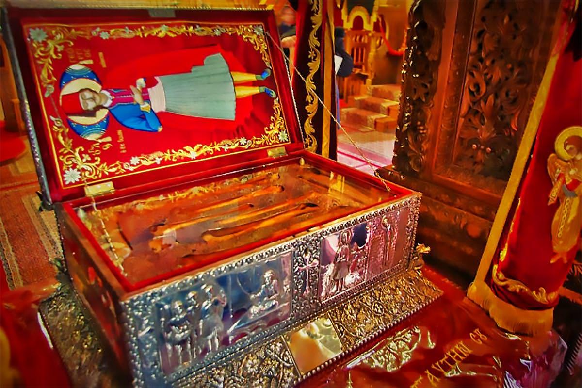 Ιερό Λείψανο Αγίου Γεωργίου Ιωαννίνων