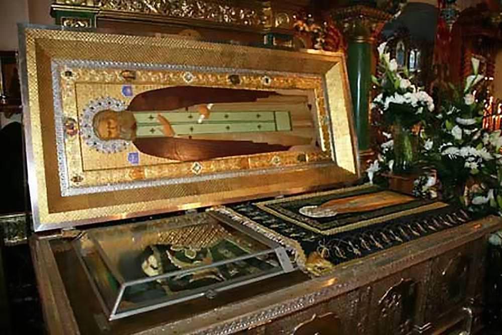Ιερό Λείψανο Όσιος Σεραφείμ του Σαρώφ