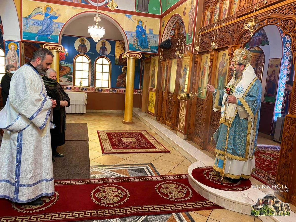 Εκκλησία ονομαστήρια του Μητροπολίτη Ελμπασάν Αντωνίου
