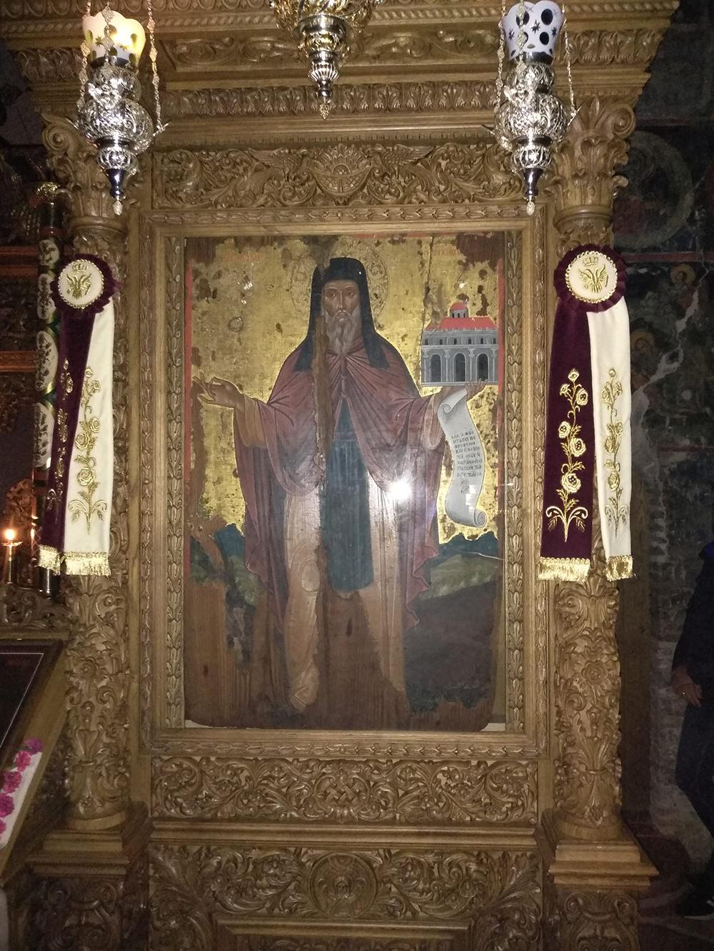 Οσίου Νείλου Μοναστήρι Γηρομερίου Φιλιατών