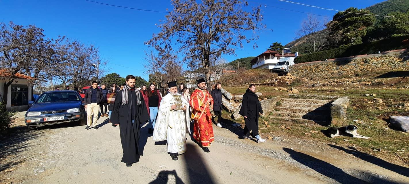 Εκκλησία της Αλβανίας Ενορία Γκινάρ Θεοφάνεια παλαιό ημερολόγιο 2021