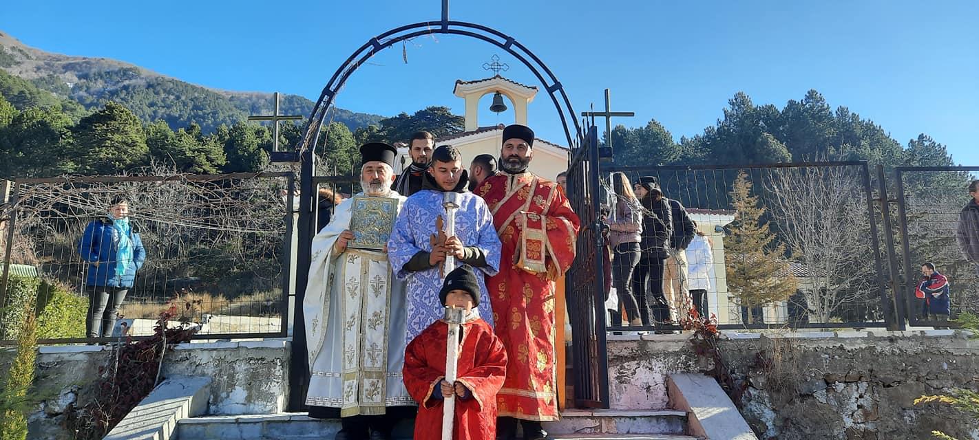 Εκκλησία της Αλβανίας Ενορία Γκινάρ Θεοφάνεια 2021