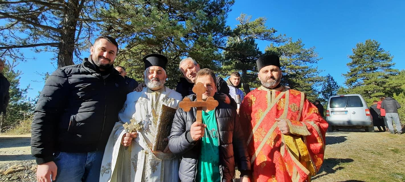 Εκκλησία Αλβανίας Ενορία Γκινάρ Θεοφάνεια 2021