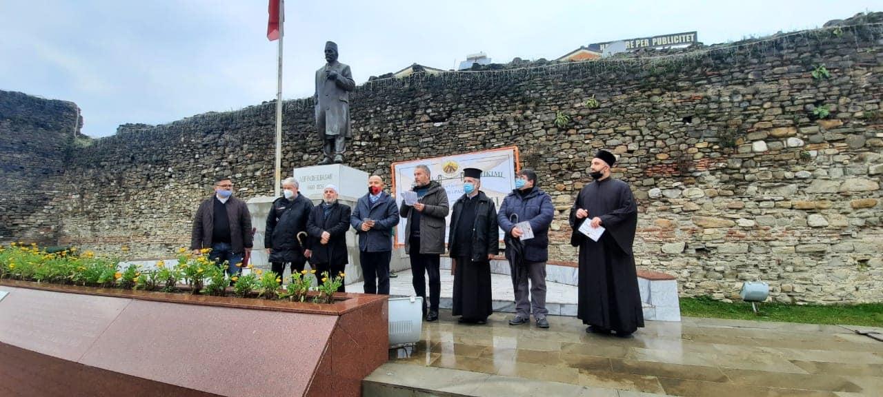 Πορεία για ειρήνη και αδελφοσύνη από τις θρησκείες στην Αλβανίας
