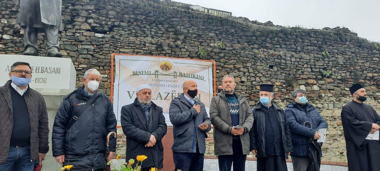 Πορεία για ειρήνη και αδελφοσύνη από τις θρησκείες Αλβανία