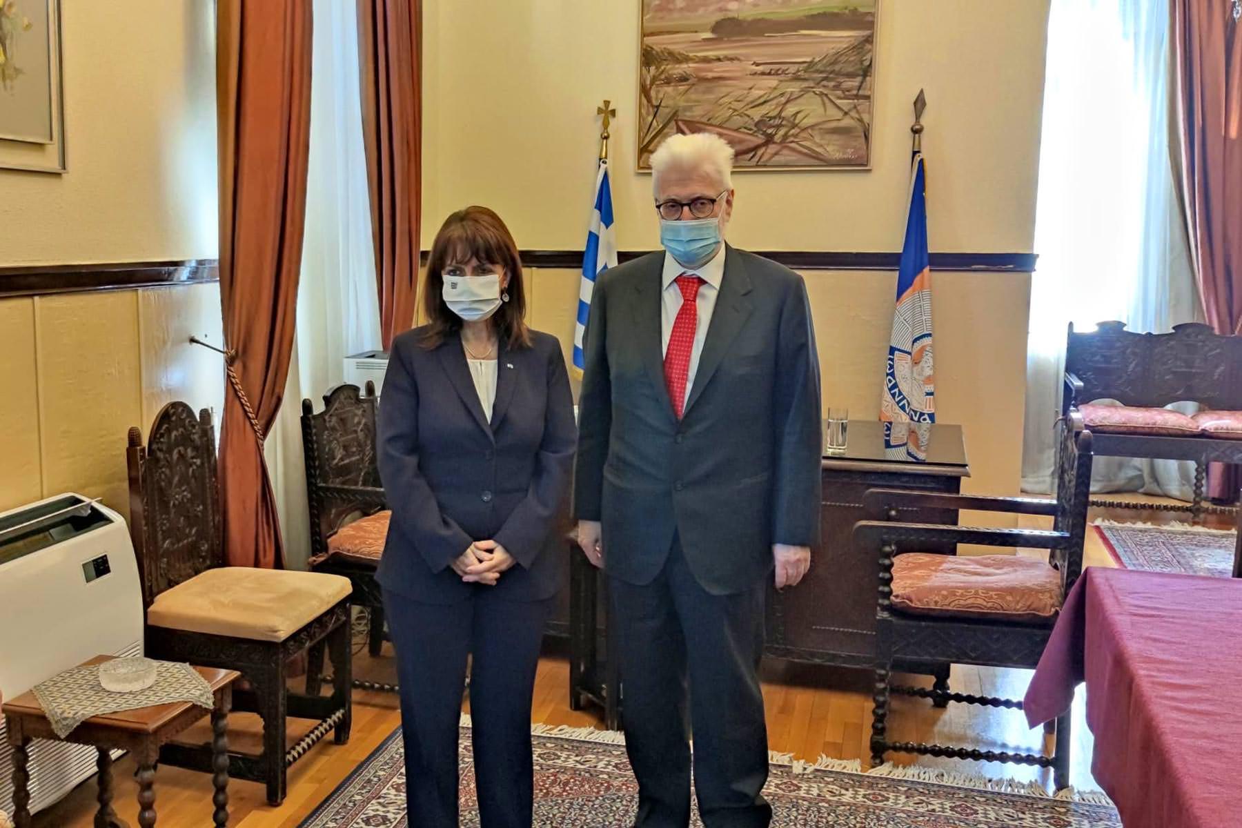 απελευθέρωση των Ιωαννίνων Πρόεδρος της Δημοκρατίας 2021