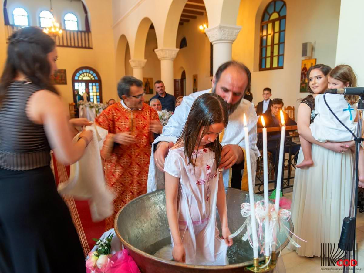 Εκκλησία Αλβανία Βάπτιση