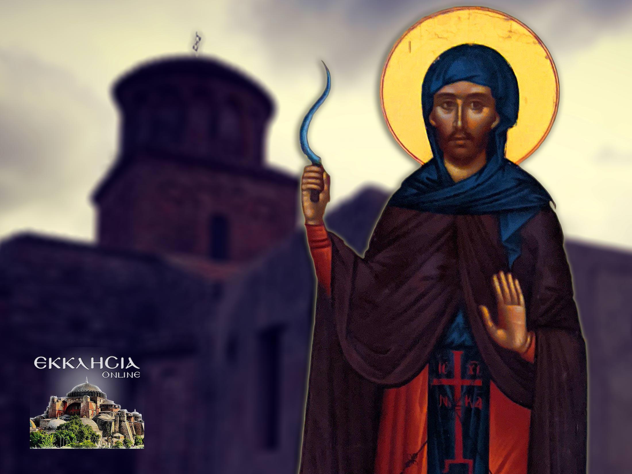Όσιος Ιωάννης ο Θεριστής ο εν Καλαβρία 24 Φεβρουαρίου