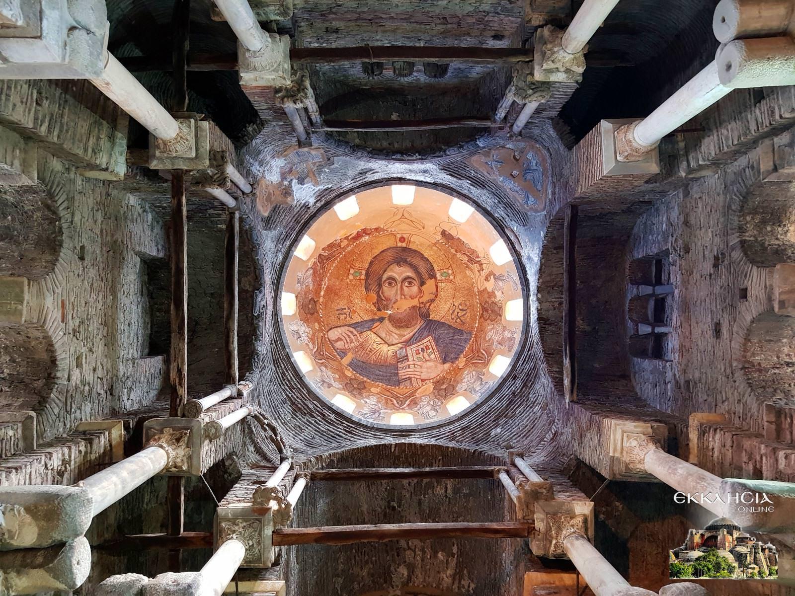 Παναγία Παρηγορήτισσα Άρτα Τρούλος