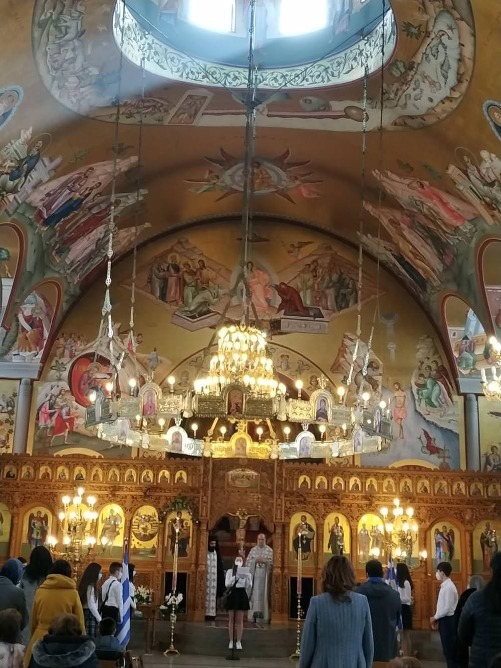 Ιερός Ναός Αγίων Πάντων 25η Μαρτίου Μόναχο