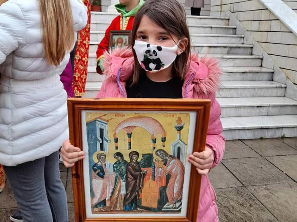 λιτανείες εορτή Κυριακή της Ορθοδοξίας Αλβανία