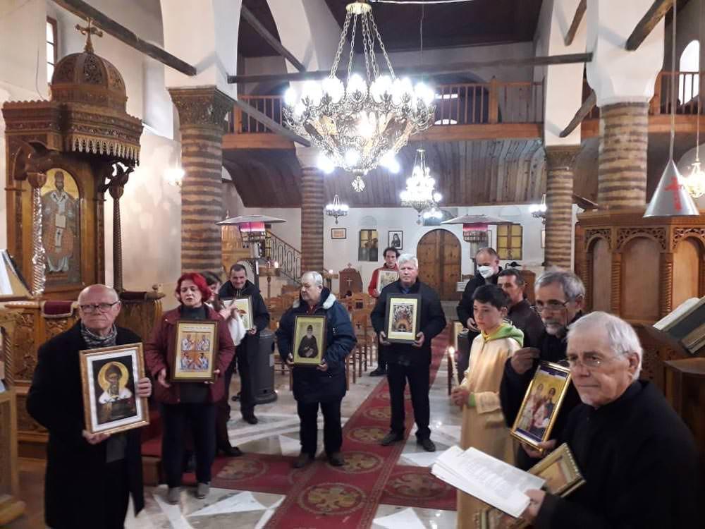 λιτανείες εορτή Κυριακή της Ορθοδοξίας Εκκλησία Αλβανίας 2021
