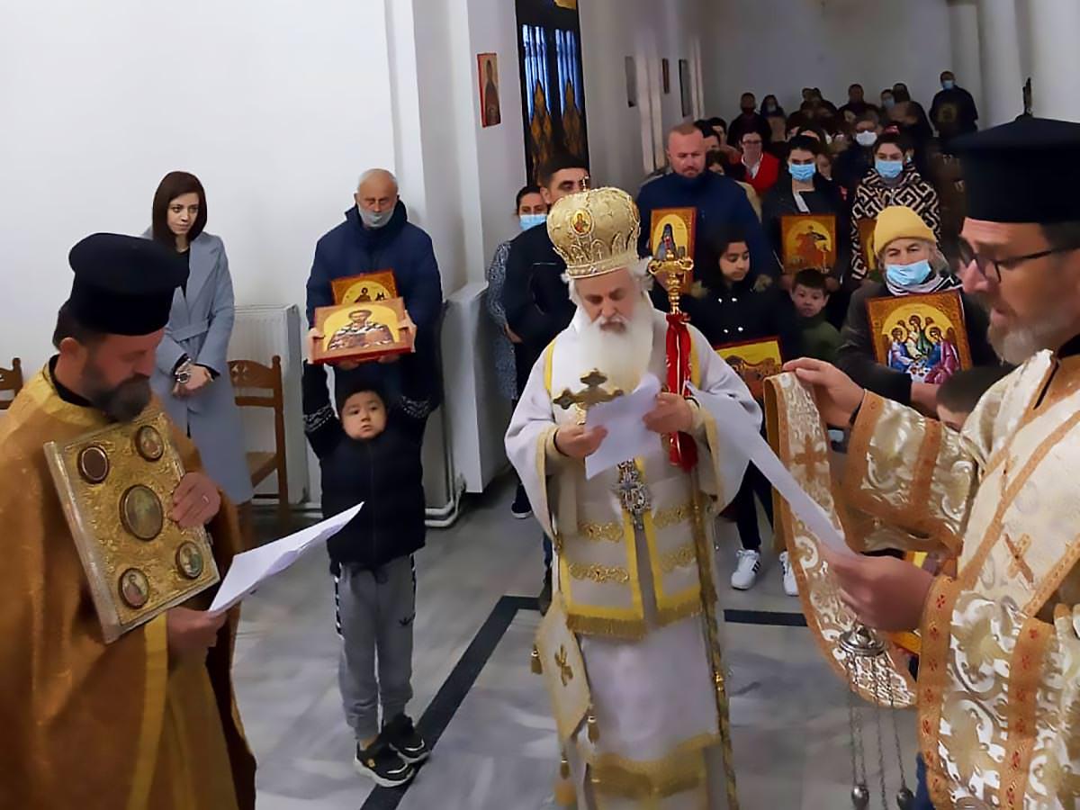 εορτή Κυριακή της Ορθοδοξίας Εκκλησία Αλβανία