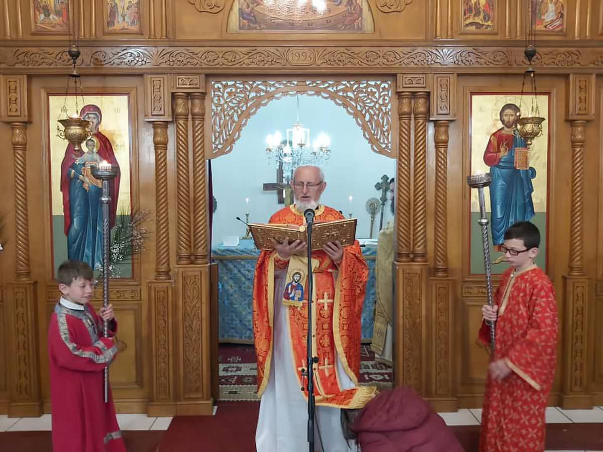 Εορτή Δια Κολλύβων Θαύμα στο ναό των Αγίων Θεοδώρων Αυλώνα Αλβανίας