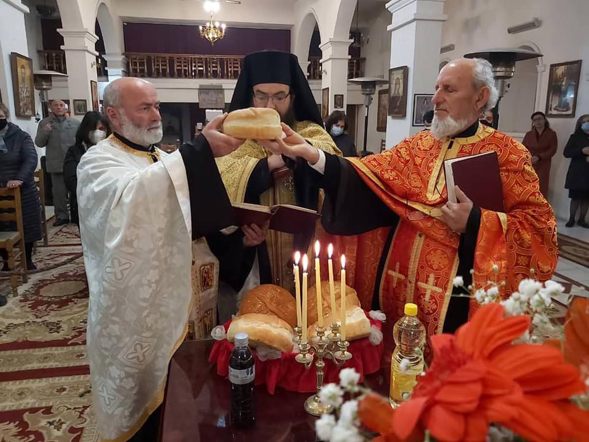 Εορτή Δια Κολλύβων Θαύμα στο ναό των Αγίων Θεοδώρων