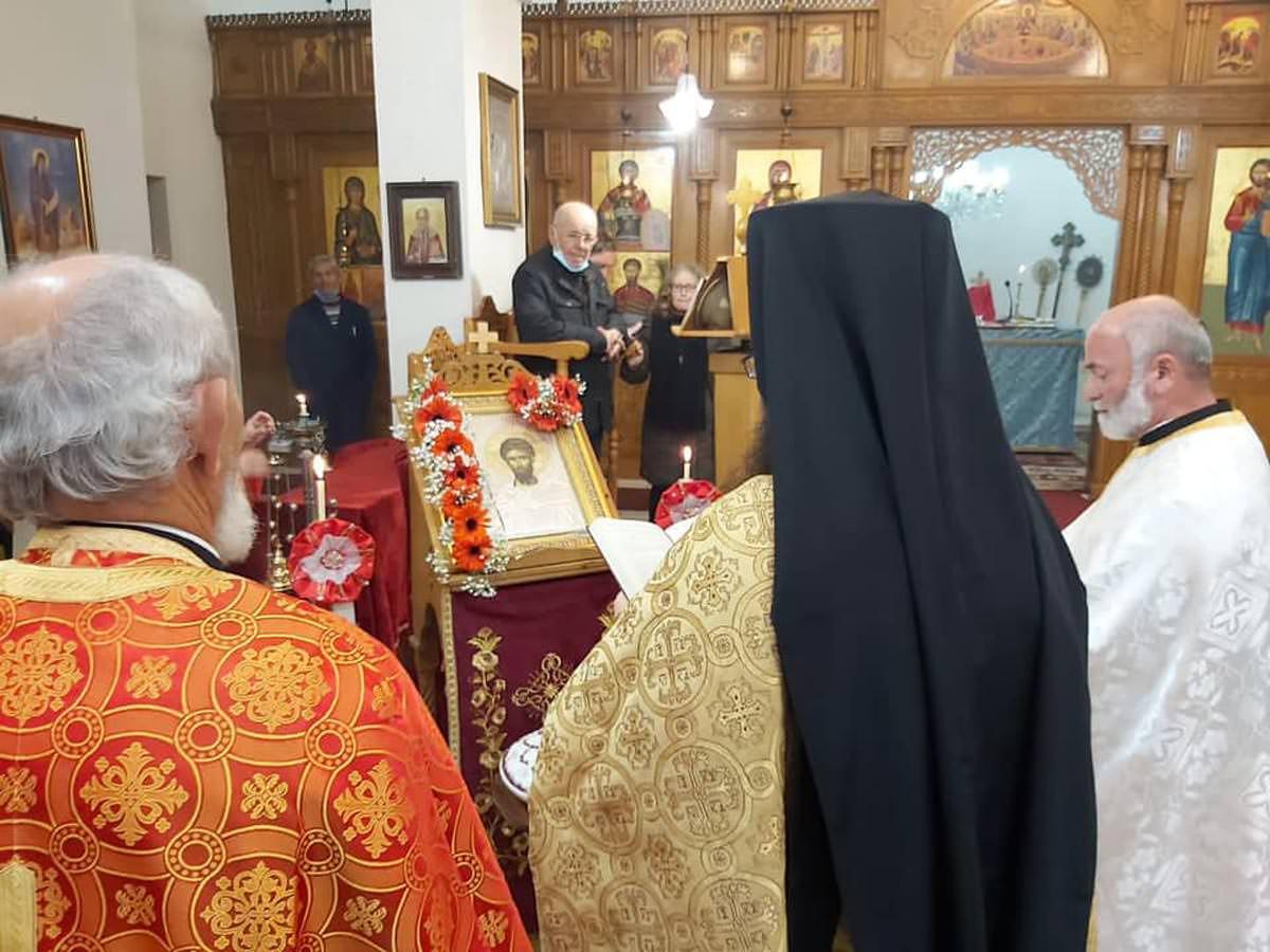 Εορτή Δια Κολλύβων Θαύμα στο ναό των Αγίων Θεοδώρων Αυλώνας Αλβανίας