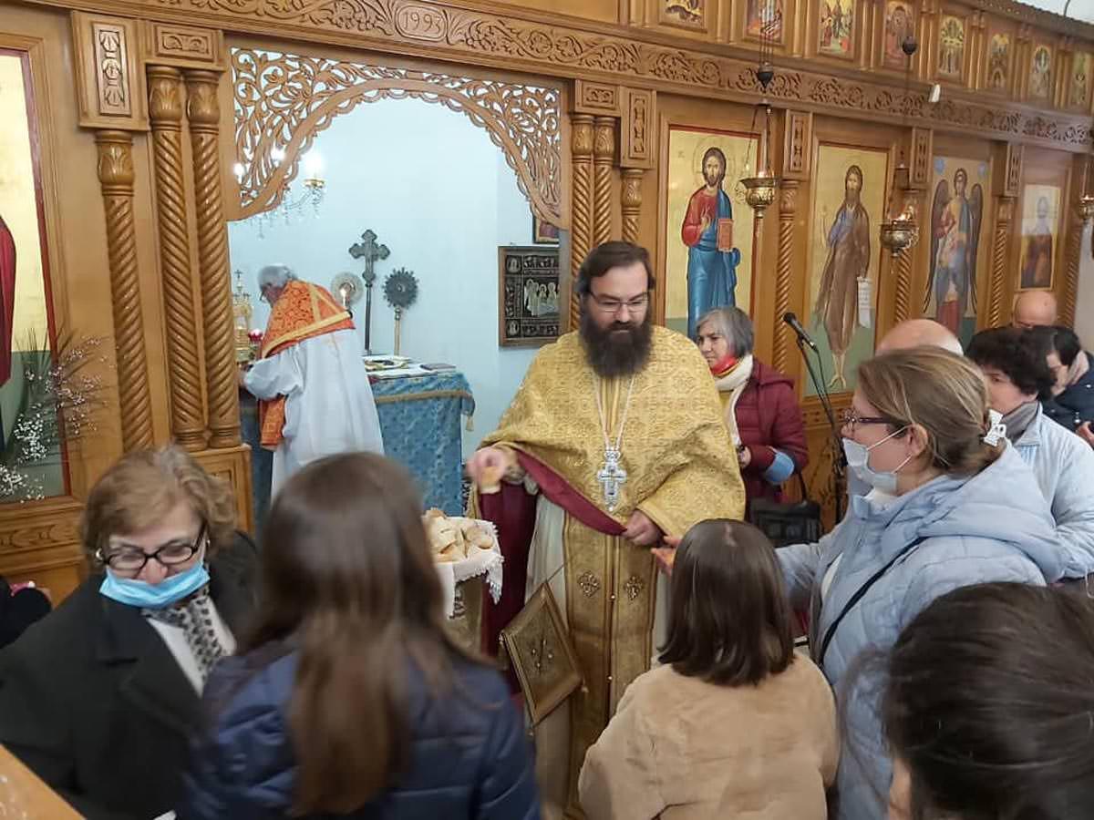 Εορτή Δια Κολλύβων Θαύμα Αγίων Θεοδώρων Αυλώνα Αλβανίας