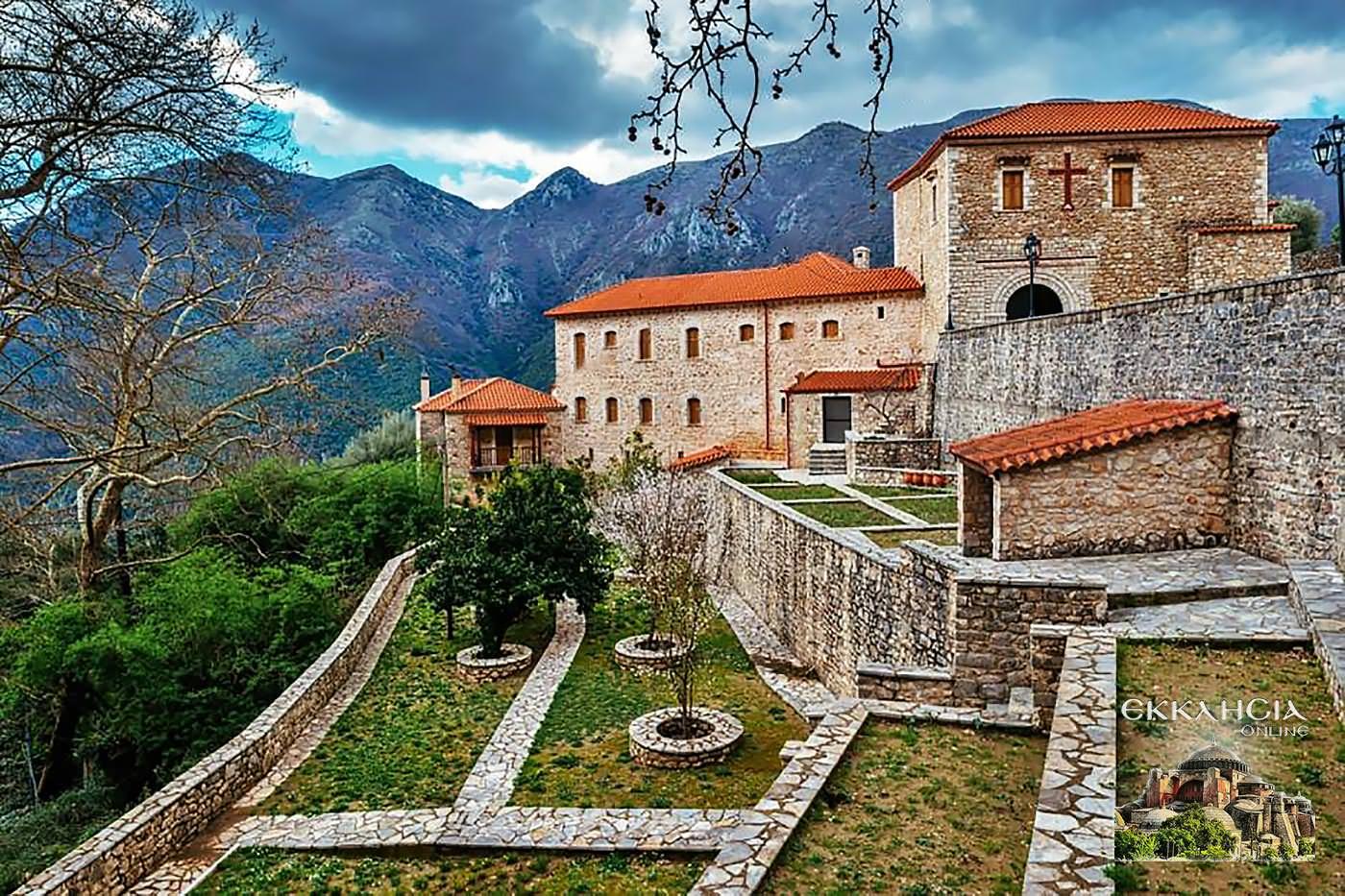Μοναστήρι Γηρομερίου Θεσπρωτίας