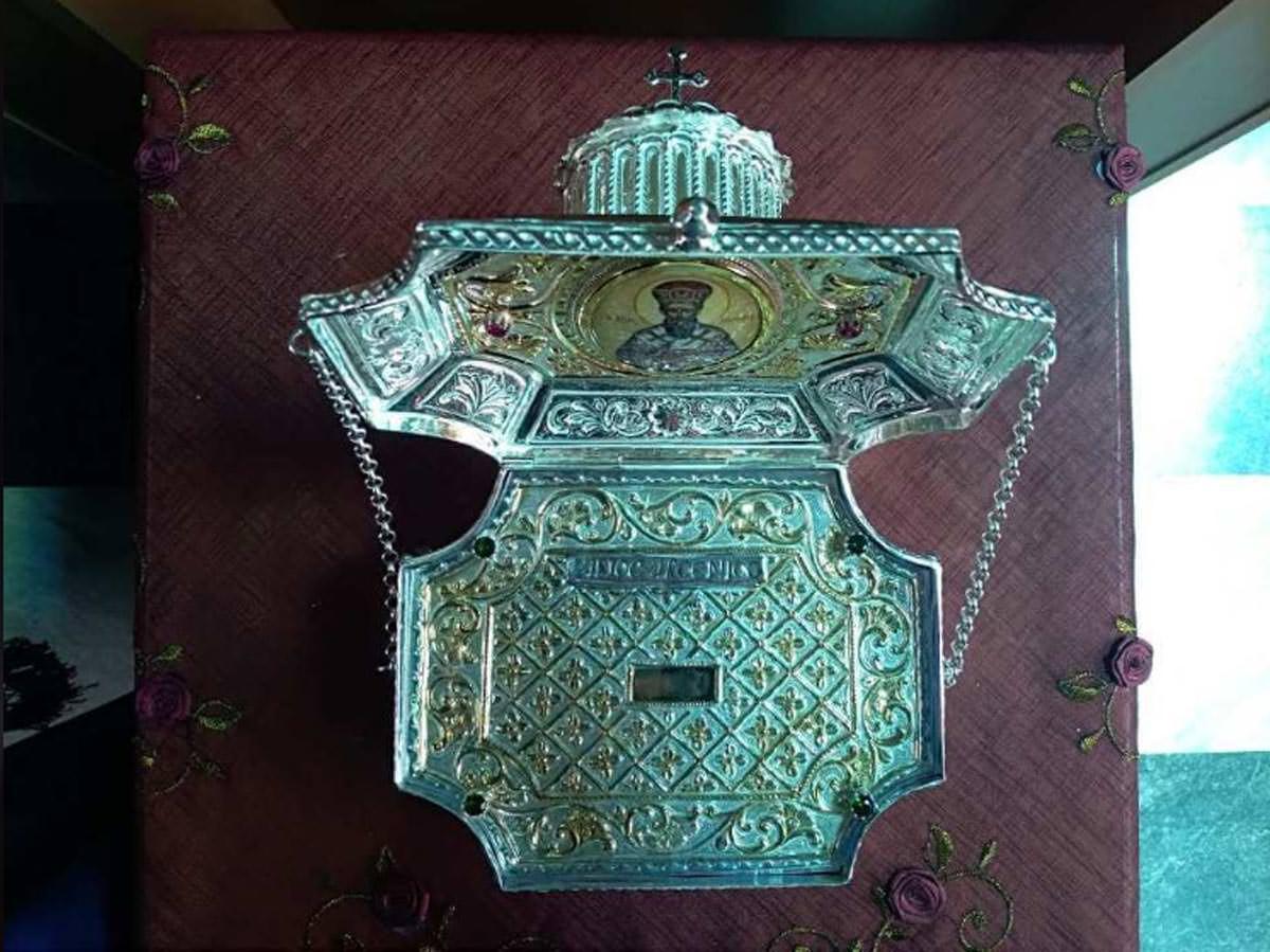 Λείψανο Αγίου Αρσενίου του Αρχιεπισκόπου Ελασσώνος