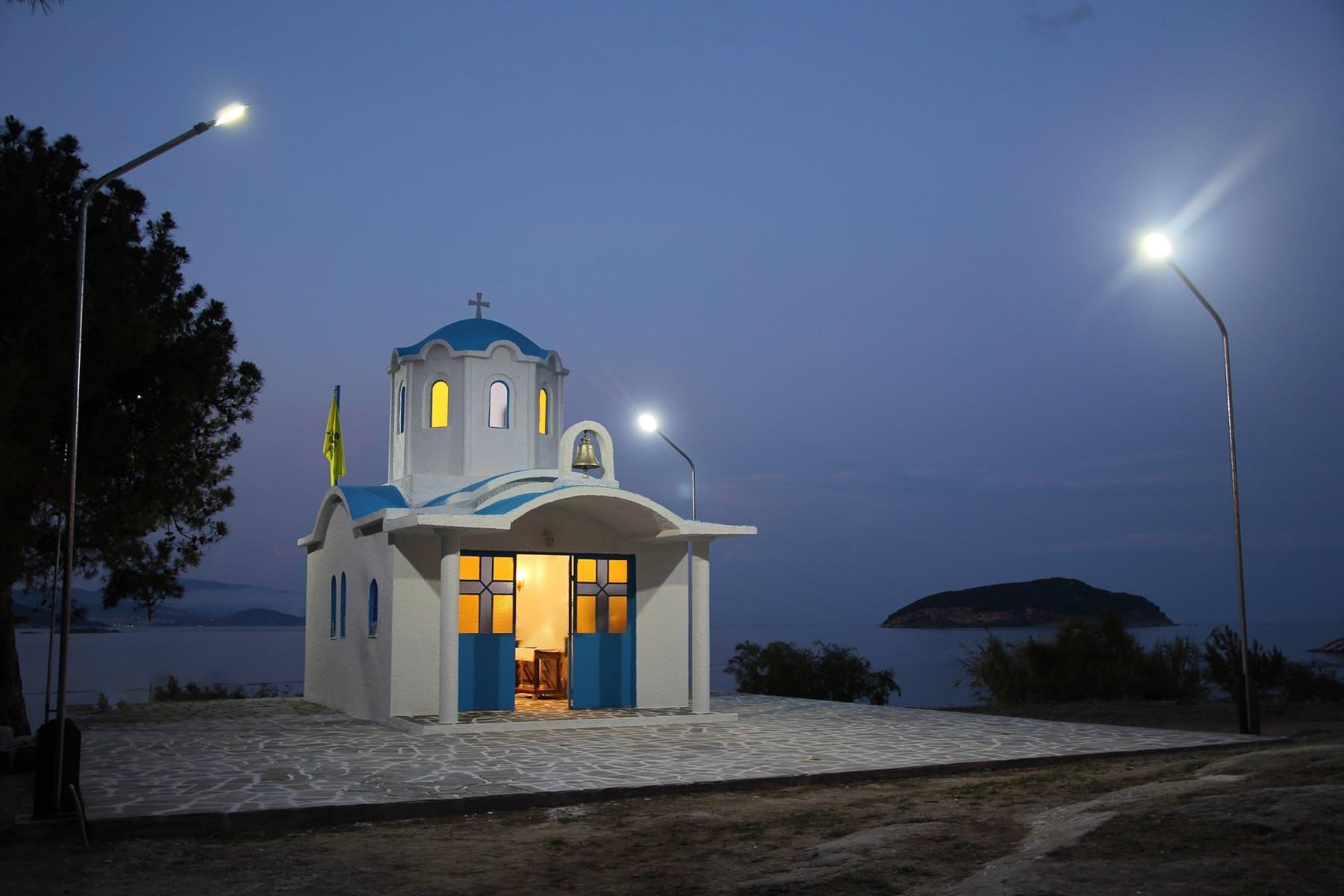 Νέα Ηρακλείτσα εκκλησία Αγίας Μαρίνας