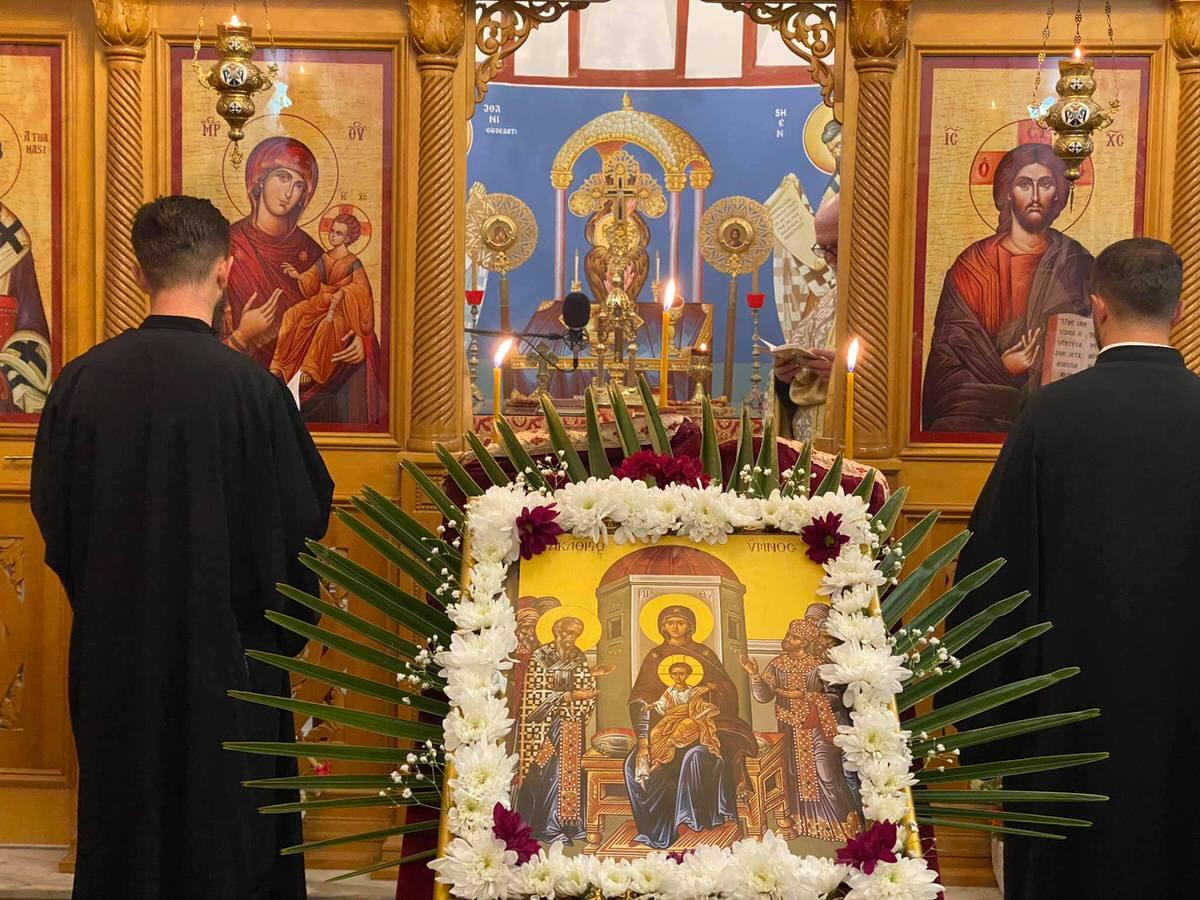 Ακάθιστος Ύμνος στις Ορθόδοξες Εκκλησίες Αλβανίας 2021