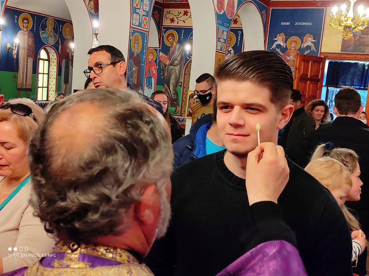 Ιερό Ευχέλαιο Μεγάλη Τετάρτη Αλβανία