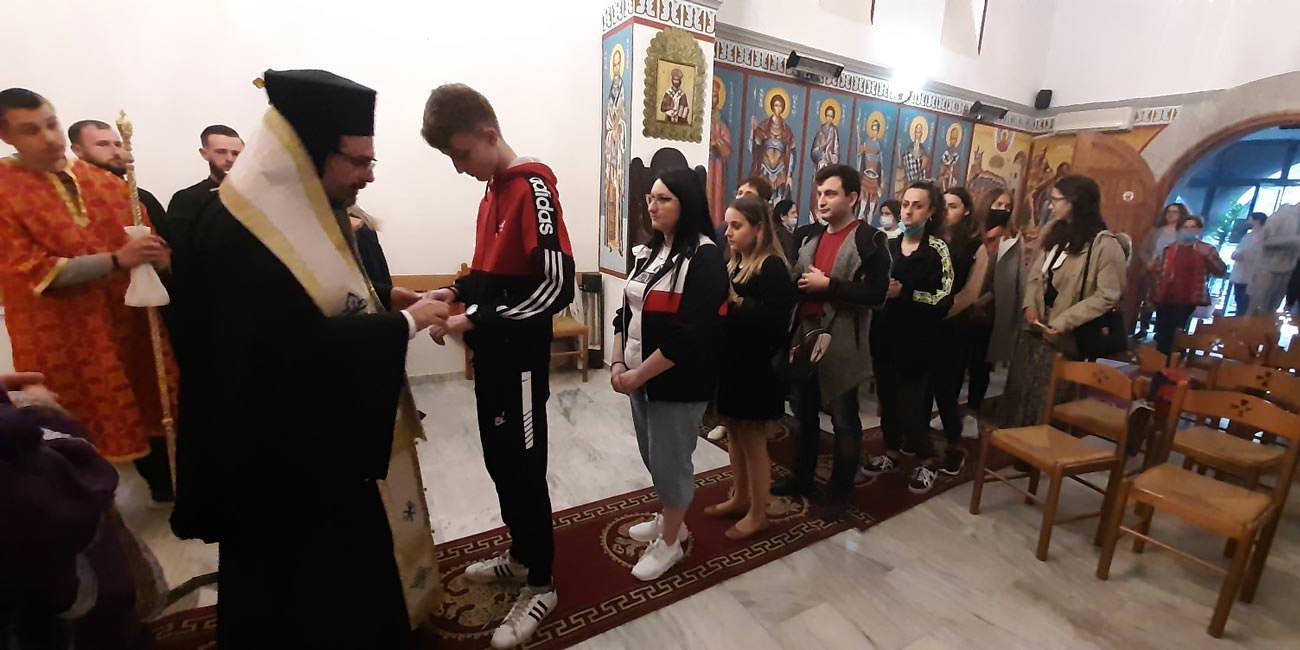Ευχέλαιο Μεγάλη Τετάρτη Αλβανία