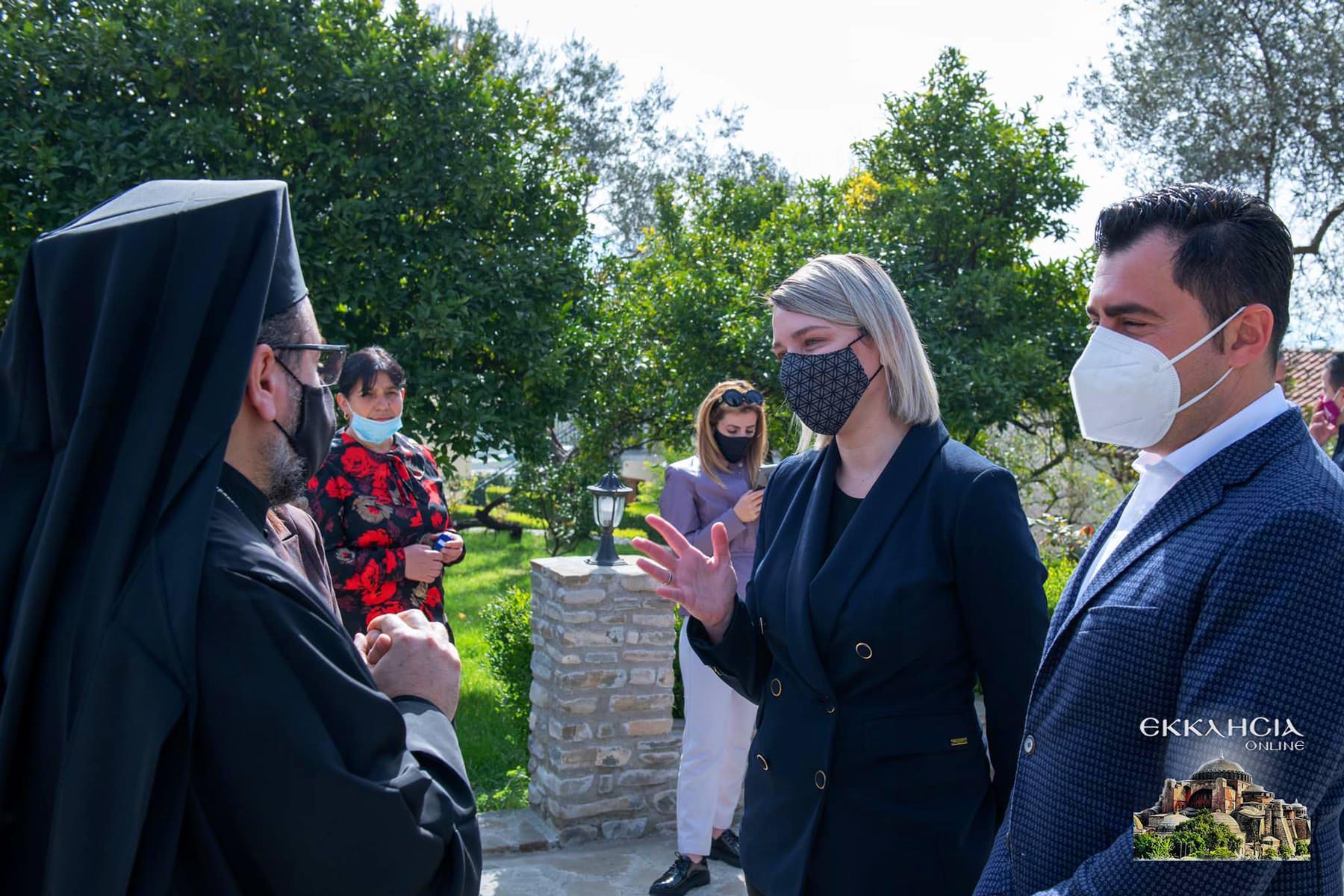 Μητροπολίτης Αντώνιος Υπουργός Έλβα Μαργαρίτι