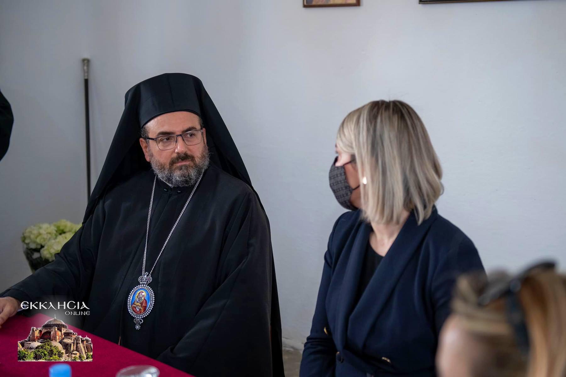 Υπουργός Πολιτισμού της Αλβανίας Έλβα Μαργαρίτι
