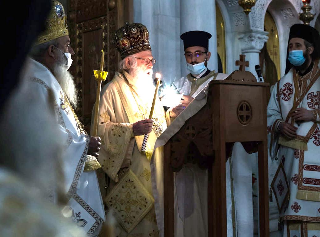 Ανάσταση Αρχιεπίσκοπος Αλβανίας Αναστάσιος 2021