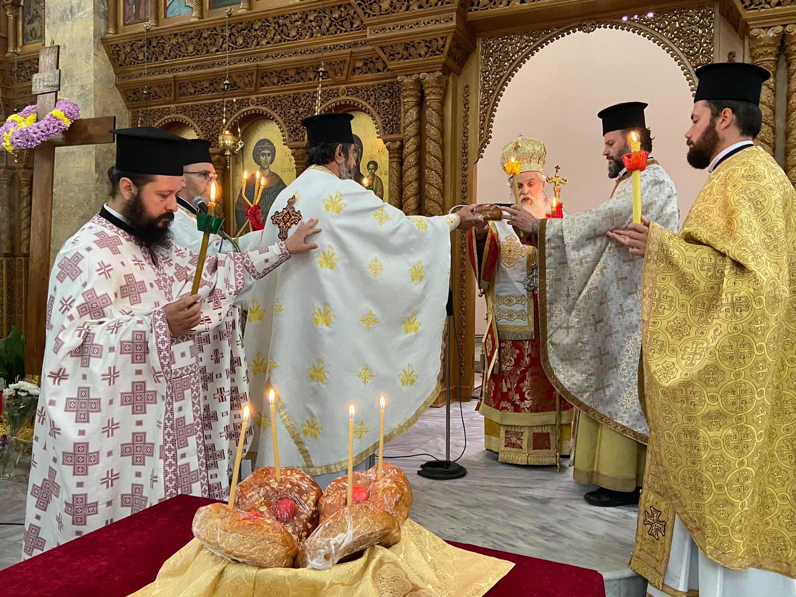 Εκκλησία Αγίου Γεωργίου Φίερι Αλβανίας 2021