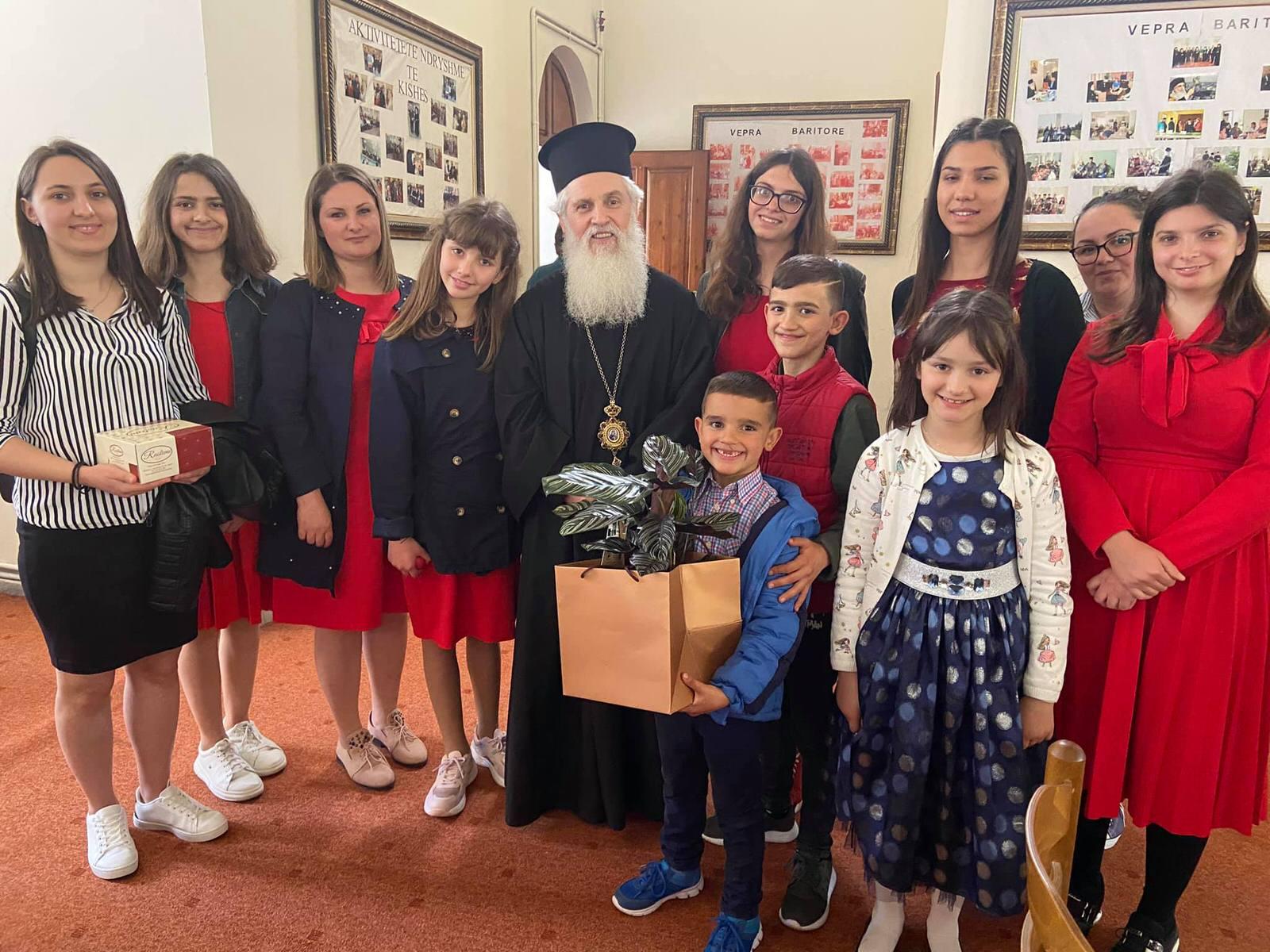 Εορτή Αγίου Γεωργίου στο Φίερι Αλβανίας