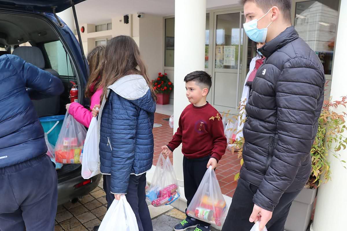 Εκστρατεία αγάπης παιδιά Αλβανία