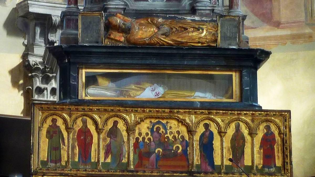 Λείψανο Αγίου Δονάτου