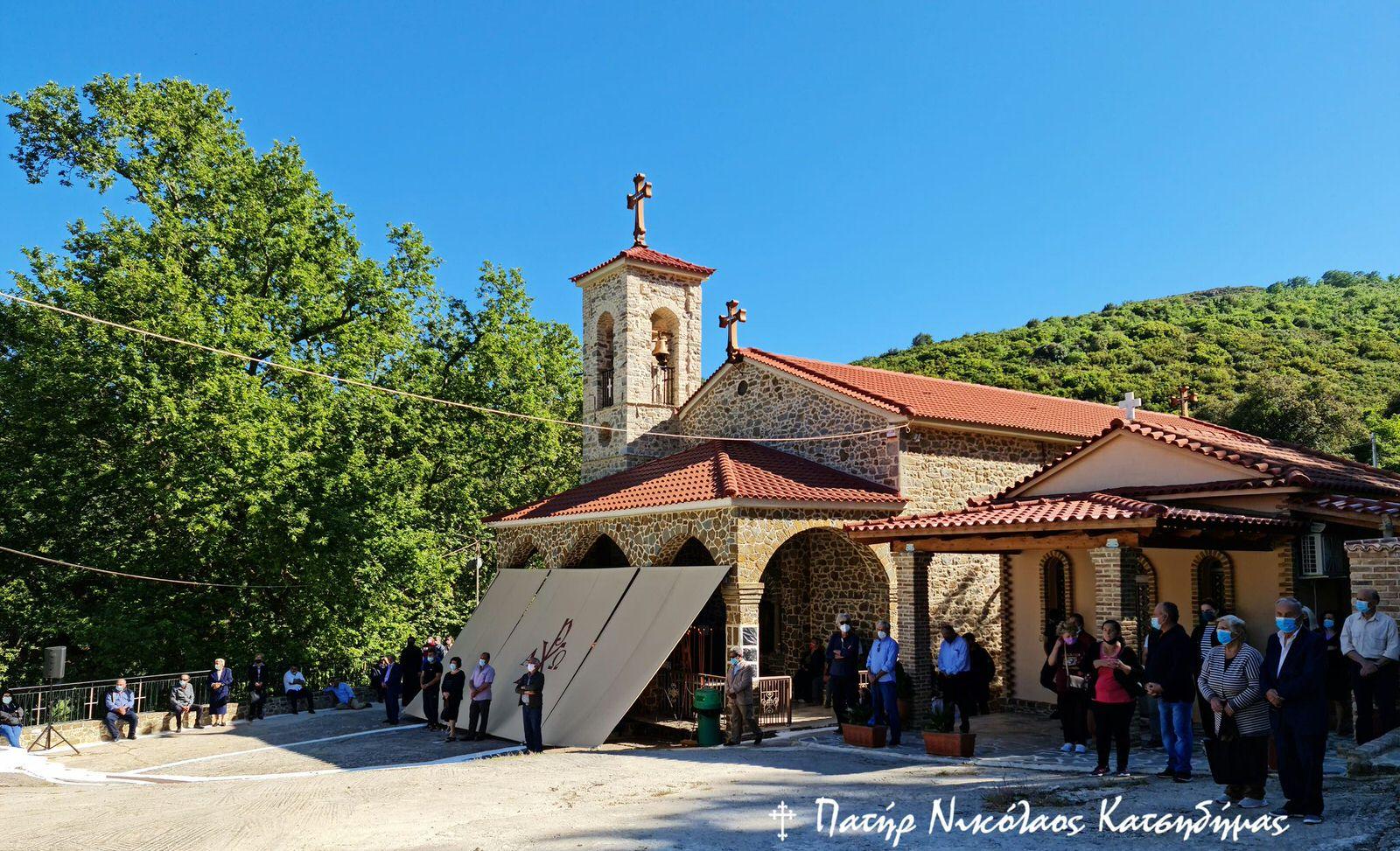 Πανήγυρις του Αγίου Νικολάου στα Σπάτα Αχαΐας