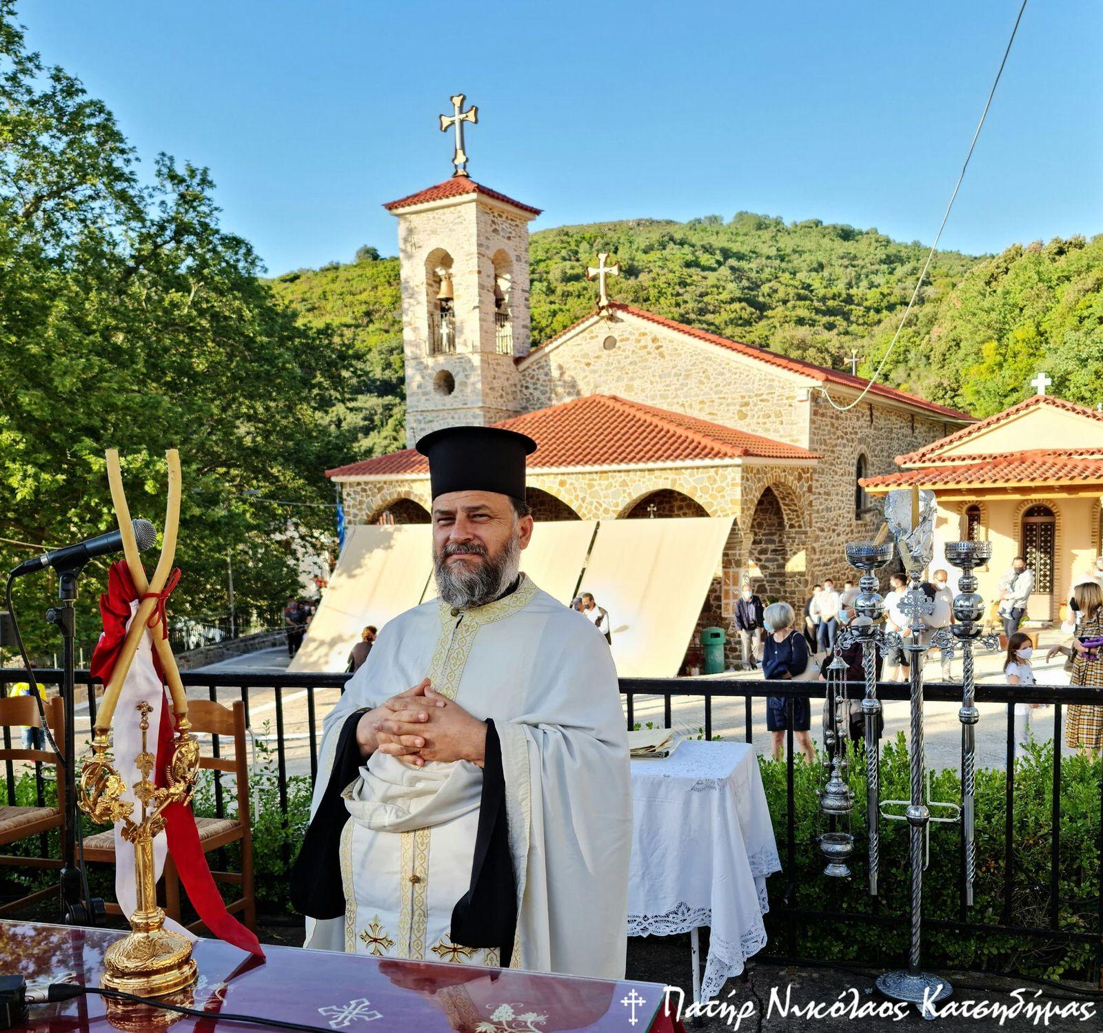 Πανήγυρις Αγίου Νικολάου Σπάτα Αχαΐας