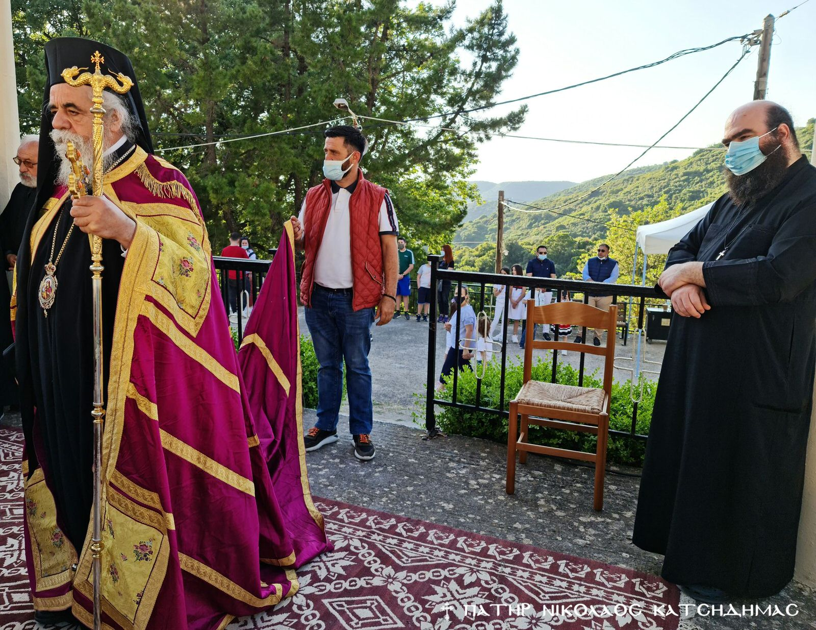 Πανήγυρις Αγίου Νικολάου στα Σπάτα Αχαΐας