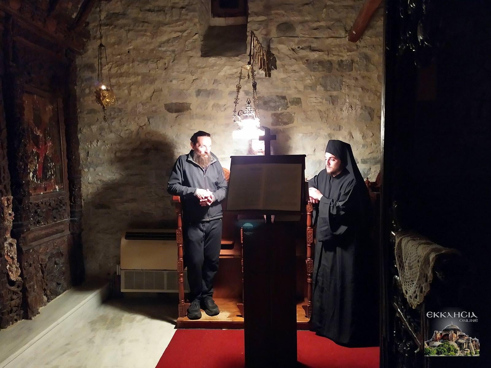 Αγρυπνία Ιερά Μονή Αγίας Μαρίνας Χαραυγής