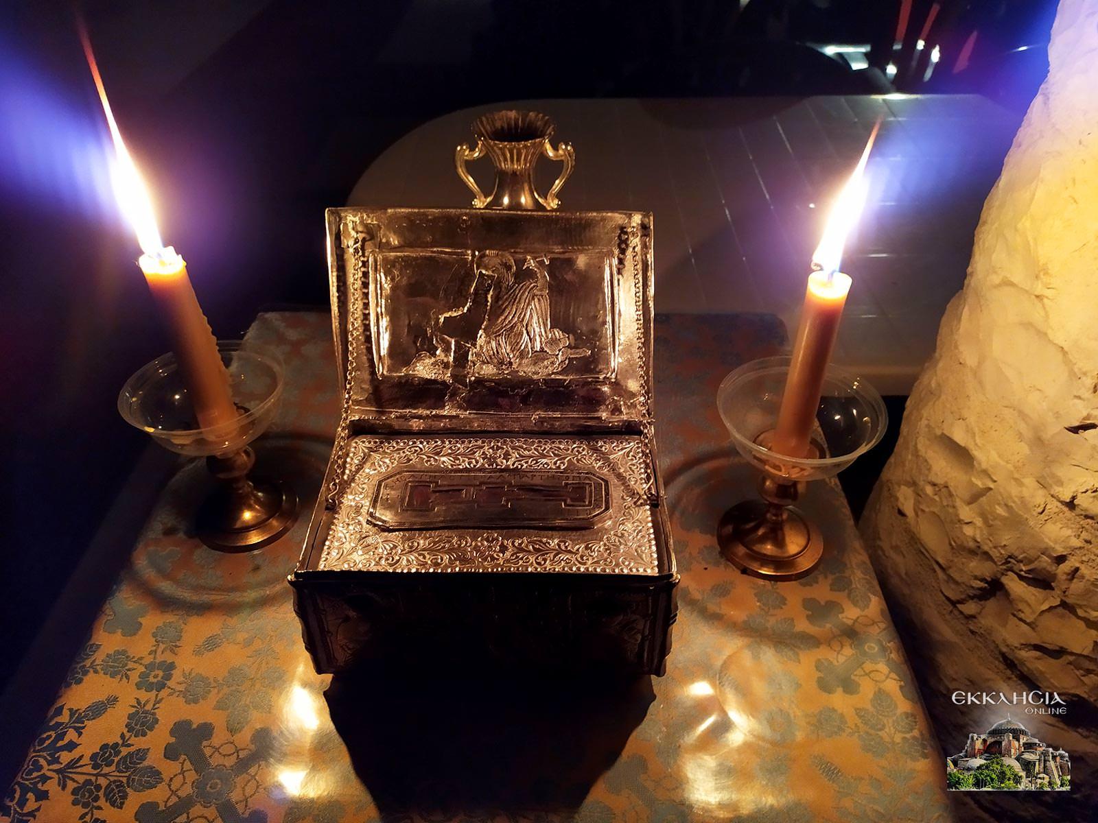 Ιερά Λείψανα Αγίας Μαρίνας Χαραυγής