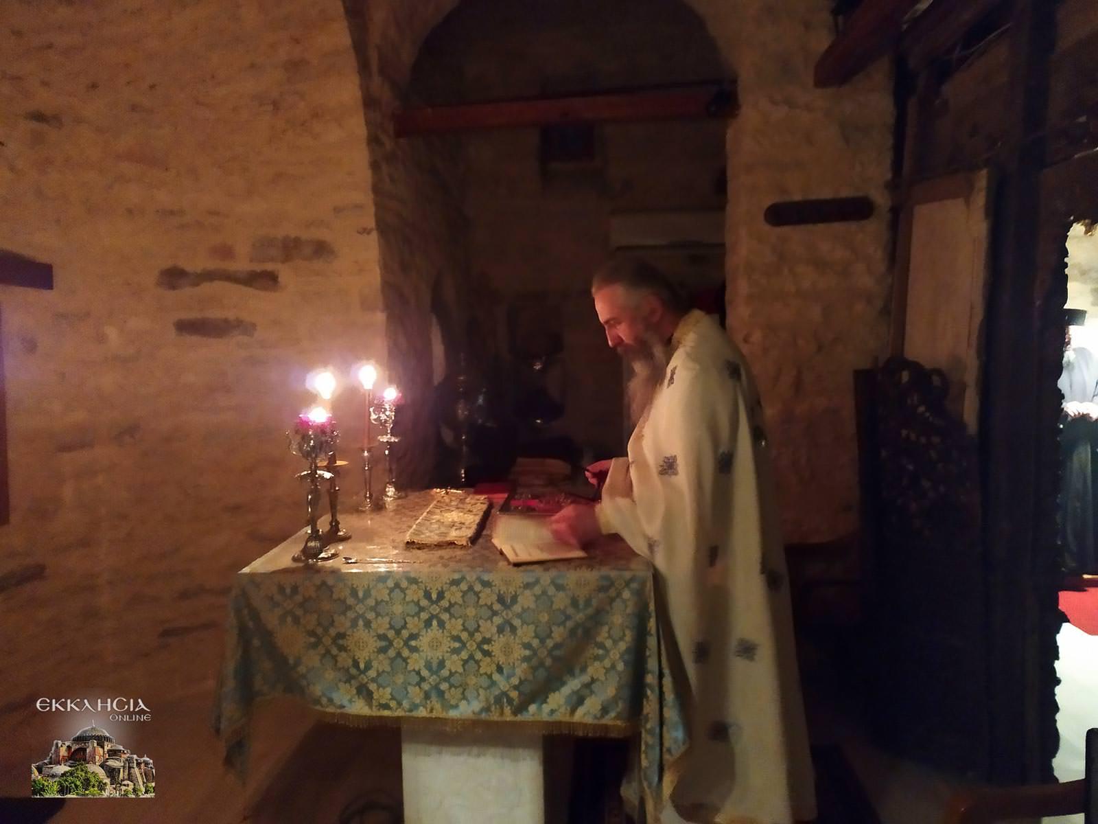 Ιερά Αγρυπνία Αγίας Μαρίνας Χαραυγής