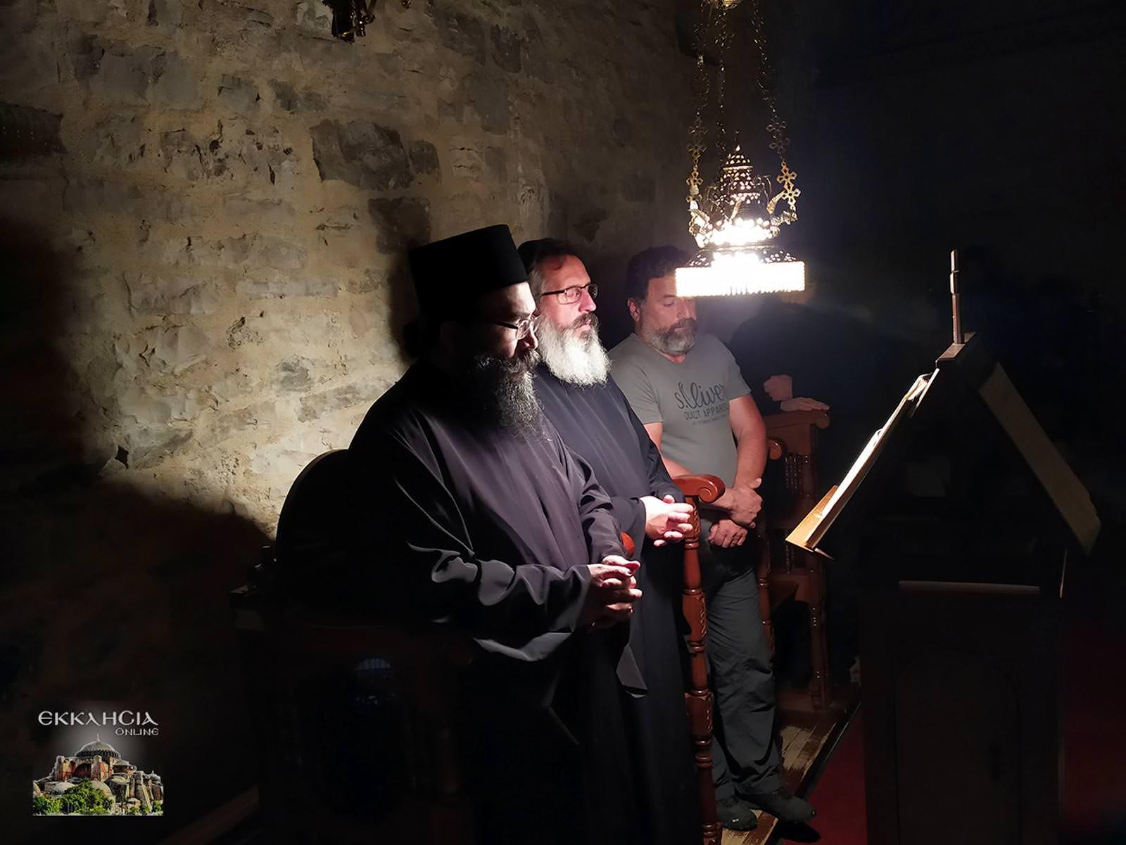 Αγία Μαρίνα Χαραυγής Αγρυπνία