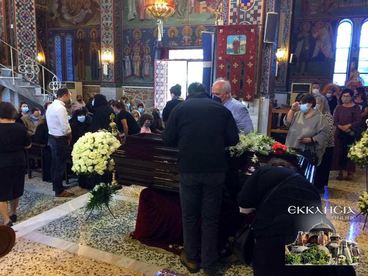 Ανανίας Κουστένης Κηδεία