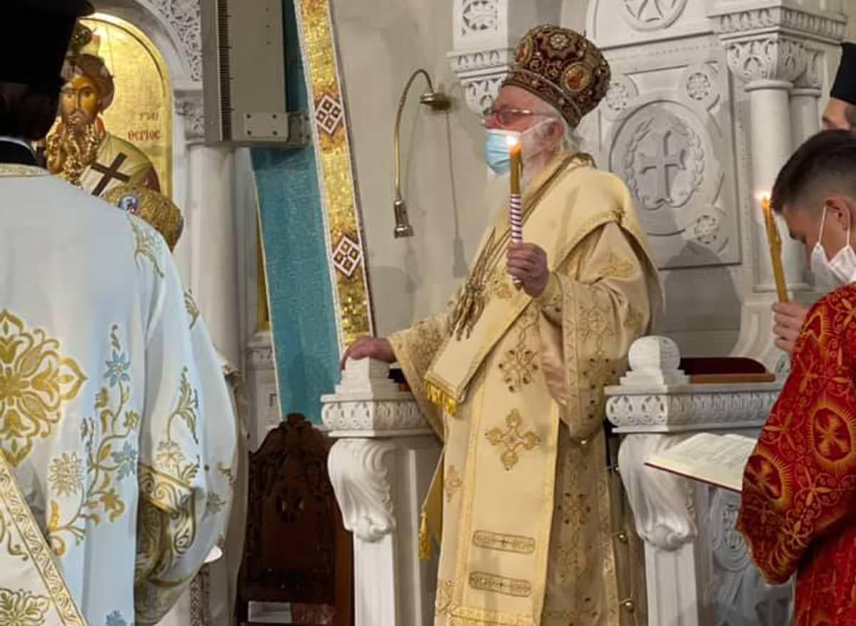 Αρχιεπίσκοπος Αλβανίας Αναστάσιος Κυριακή του Θωμά