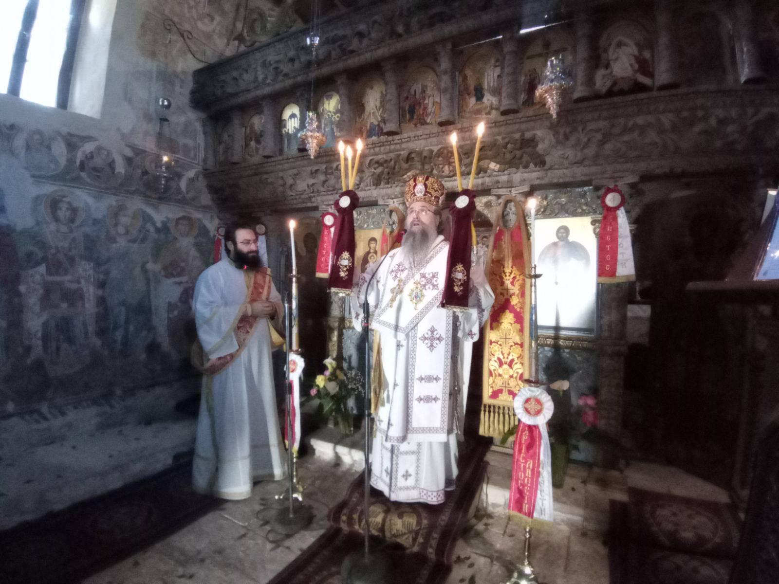 Θεία Λειτουργία Αγίου Μεγαλομάρτυρος Χριστοφόρου στο Μοναστήρι Αγίου Ιωάννου στο Λιβάδι Καρυάς