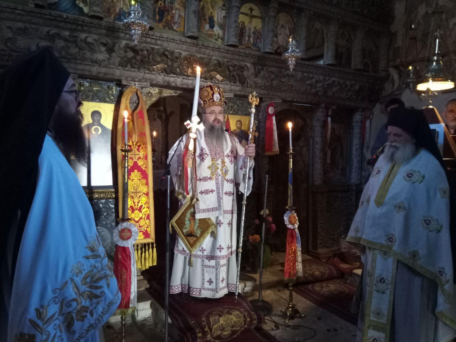 Αρχιερατική Θεία Λειτουργία Αγίου Μεγαλομάρτυρος Χριστοφόρου στο Μοναστήρι Αγίου Ιωάννου