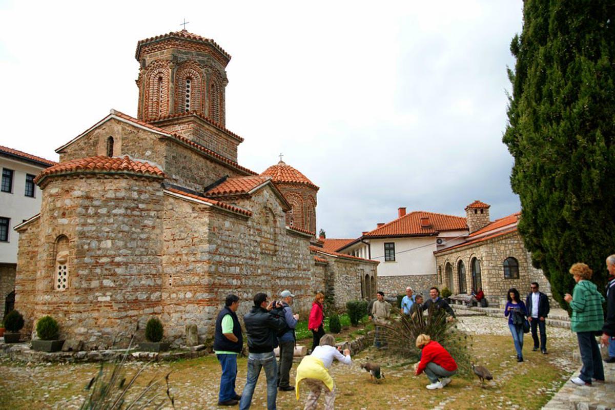 Μοναστήρι Οσίου Ναούμ 2021