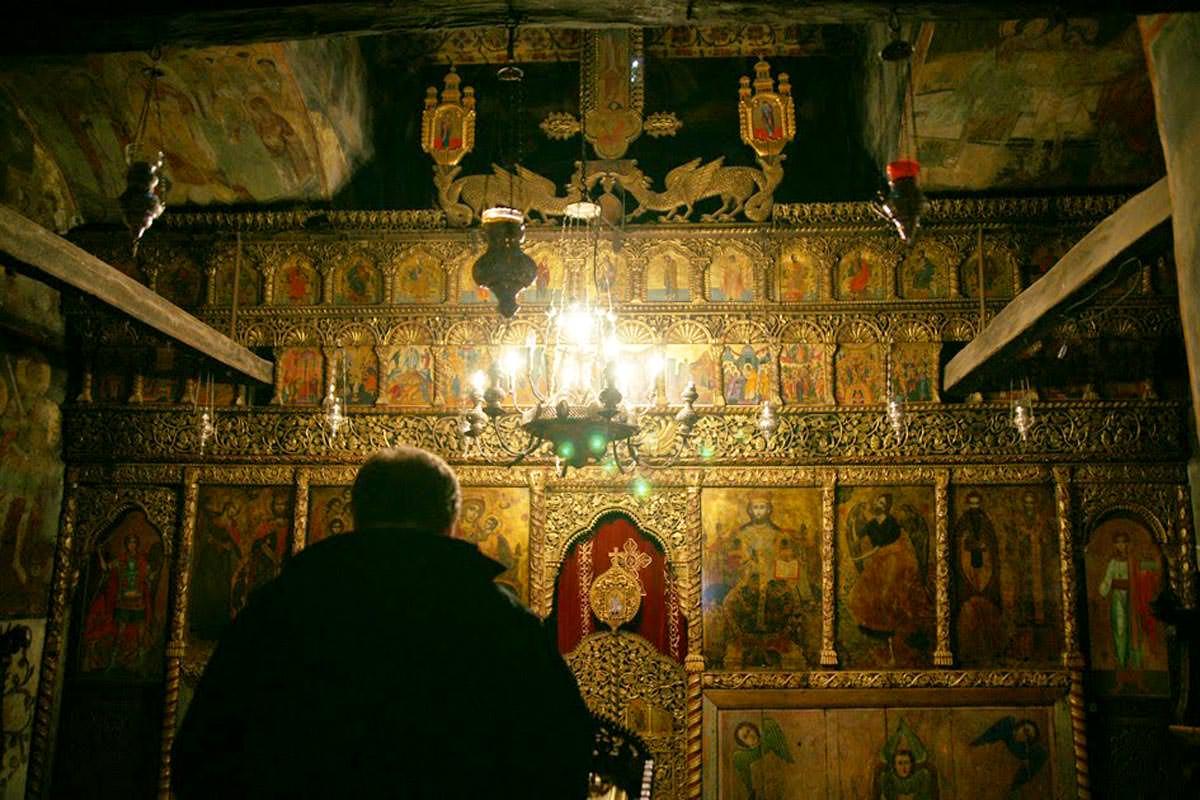 Μοναστήρι Οσίου Ναούμ Σκόπια καθολικό