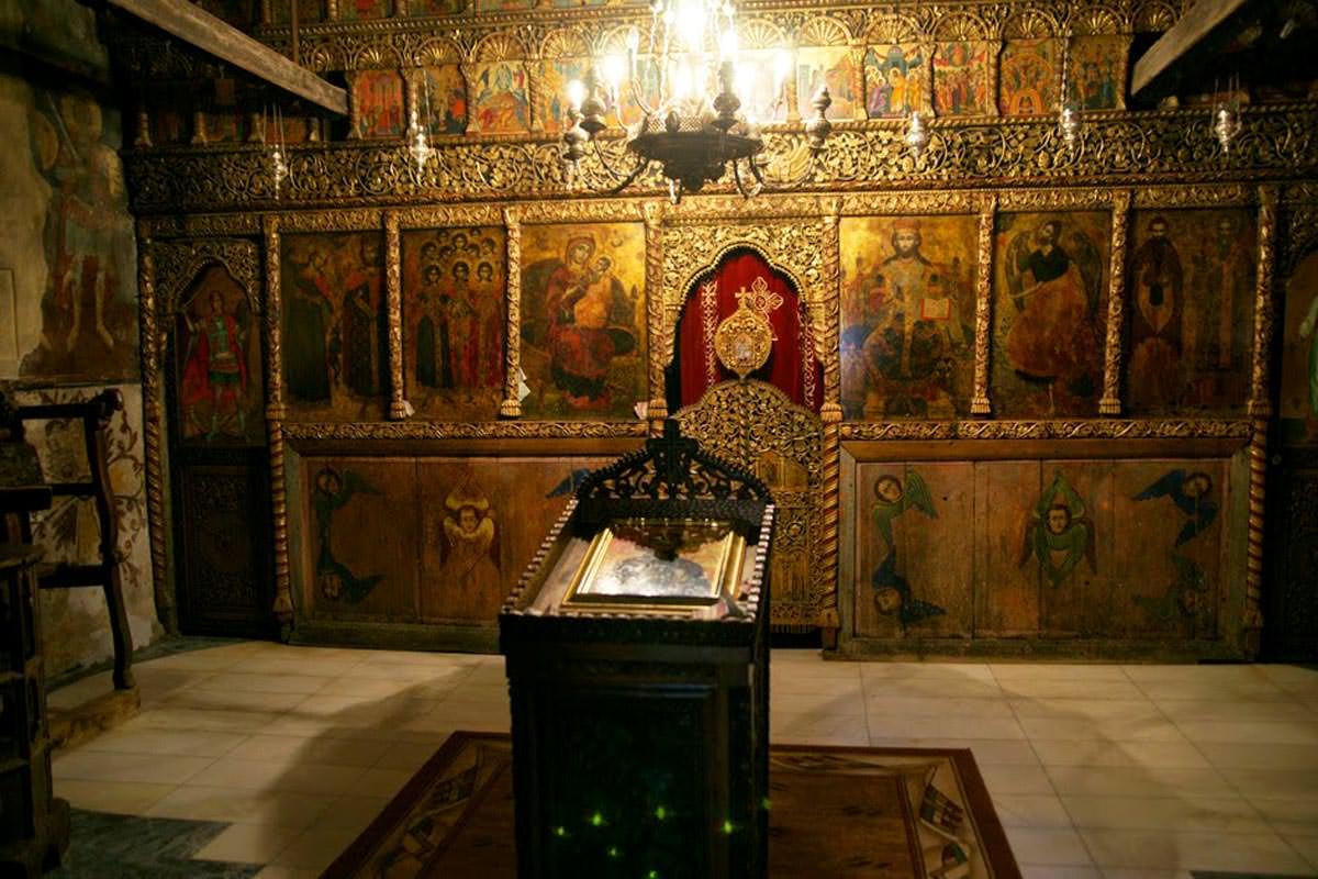 Μοναστήρι Οσίου Ναούμ καθολικό