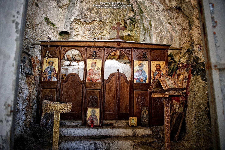 σπήλαιο του Αγίου Αρσενίου Θεσπρωτία